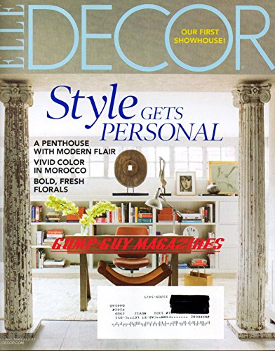 Cheap  Elle Decor (February / March 2011 Volume 22 Number 1) Our First..