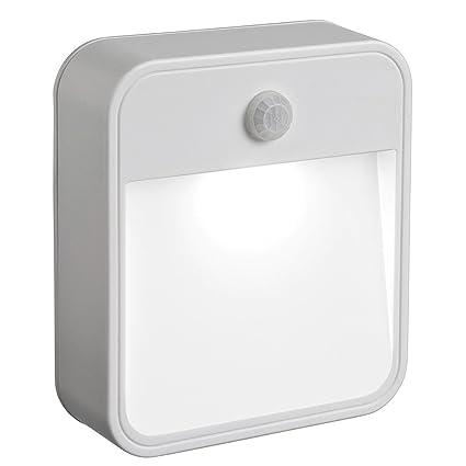 Mr Beams MB722 - Luz nocturna LED con sensor de movimiento a batería, colocación en