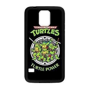 Samsung Galaxy S5 Case Teenage Mutant Ninja Turtles Plastic and PC Color Black&White