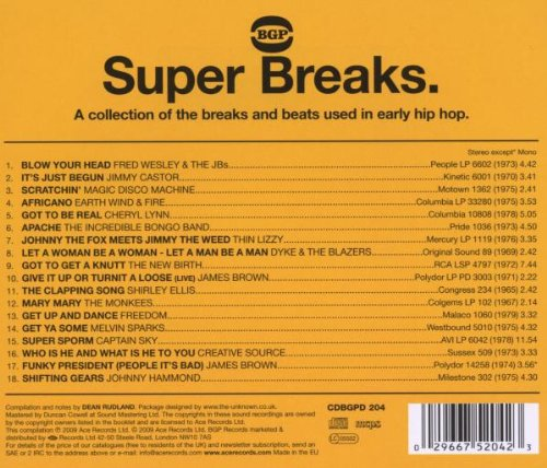 Super Breaks - Return To The Old School