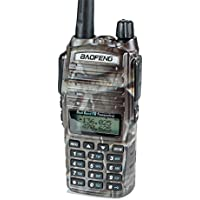 BaoFeng UV-82 High Power 7 Watt Max (UV-82 upgrade) Two Way Radios Rechargeable Walkie Talkie Hunting Accessories