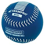 Champro Training Softball, Package (Blue, 12-Inch/10-Ounce)