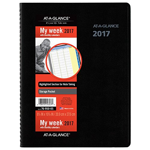 GLANCE Monthly Appointment Planner QuickNotes
