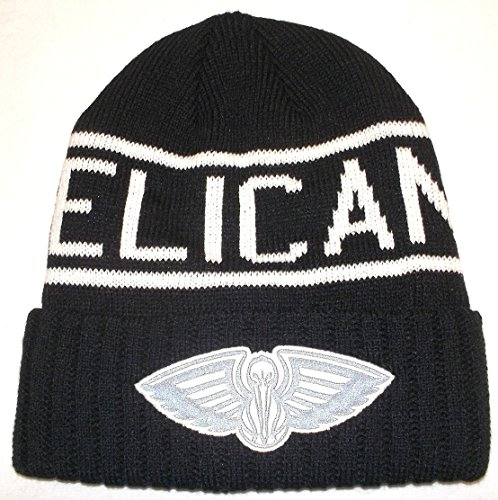 61ee3c56691 Mitchell   Ness NBA New Orleans Pelicans Cuffed Beanie Knit Hat - Osfa -  KT58Z