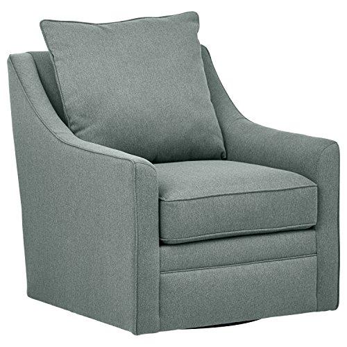 Stone & Beam Larkin Living Room Accent Swivel Chair, 30