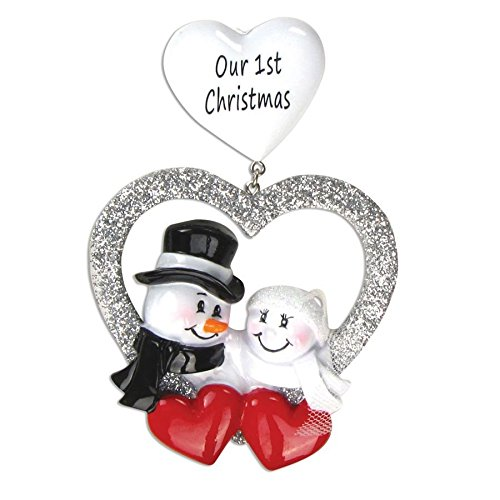 Personalized Christmas Ornaments Couples Kit Wedding Kit