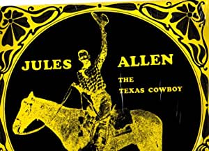 Jules Allen Lp The Texas Cowboy
