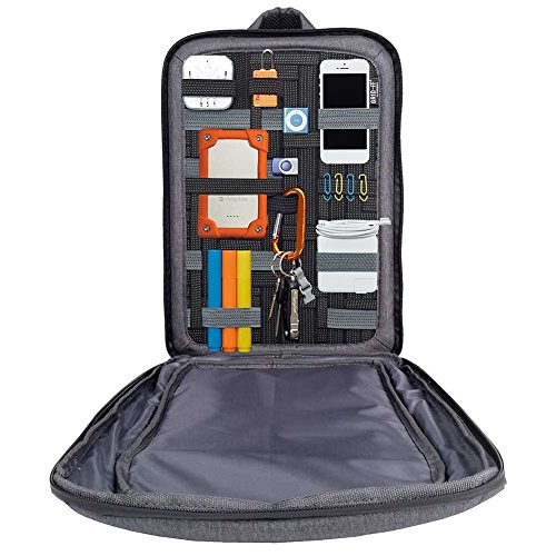 Cocoon Innovations Slim Backpack with Grid-IT Fits up to 15