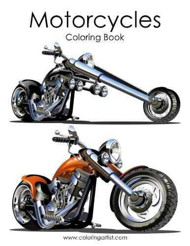 - Motorcycle Coloring Book 1 (Volume 1)