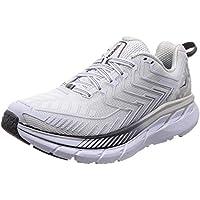 HOKA ONE ONE Women's Clifton 4 White/Blackened/Pearl Running Shoe 5 Women US