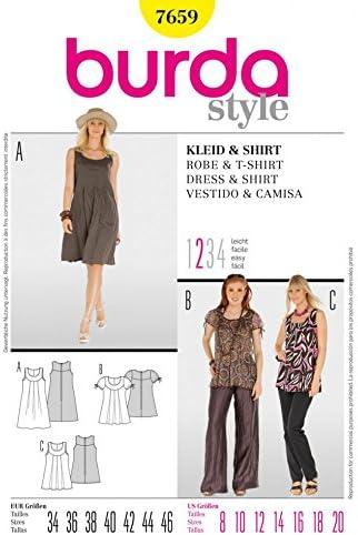Burda patrón de costura para traje de neopreno para mujer ...