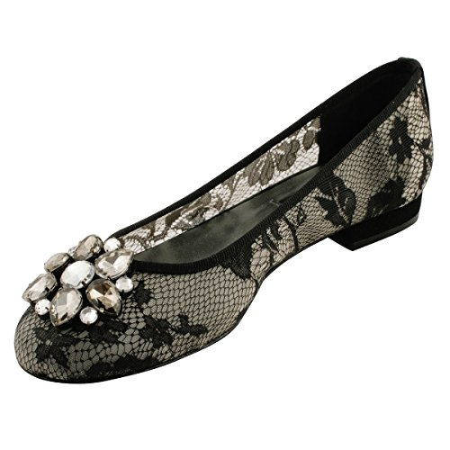Flats Black Ballet Women's Paris Exclusif ItSxpp