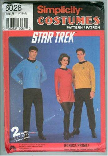 Star Trek Costume Pattern (Simplicity 8028) -
