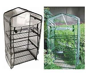 Blackspur - Invernadero tamaño mini con 3 baldas