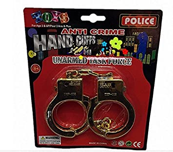 police edition plastic handcuffs for adultkids toyscosplay showhalloween make