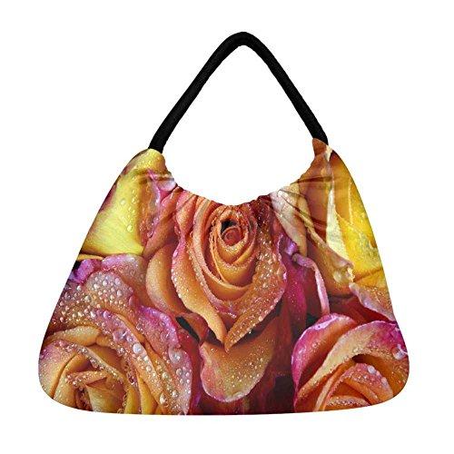 mehrfarbig mehrfarbig Snoogg Strandtasche Damen Damen Snoogg YqzwXFI