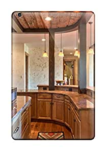 ZippyDoritEduard Scratch-free Phone Case For Ipad Mini/mini 2- Retail Packaging - Country Kitchen Featuring Curved Countertop And Cabinet Space