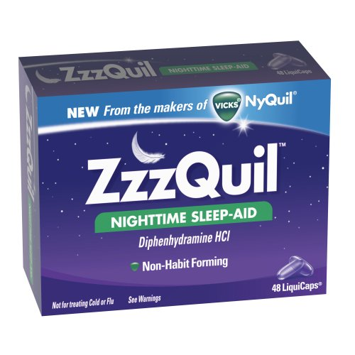 Zzzquil Nighttime Sleep-aide LiquiCaps, 48 ​​Count