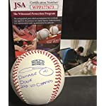 207c6e4fa51 Chris Sale Boston Red Sox Autographed Signed 2018 World Series Baseball  Proof.