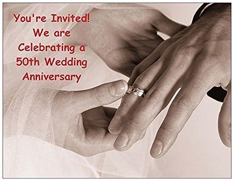 Amazon Com Hands With Wedding Rings 50th Wedding Anniversary