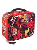 Disney B18DD38359TU Incredibles 2 Lunch Bag Tote, One Size