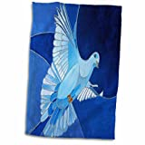 3D Rose Peace Dove Is a Common Christian Symbol of the Holy Spirit. Towel, 15'' x 22'', Multicolor