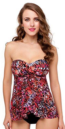 Profile by Gottex Women's Aztec Belted Bikini Bottom, Pink Multi, 12 (Bottom Belted Bikini Swimsuit)