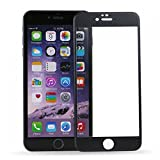 98Gadgets iPhone 6 Plus 6S Plus screen protector Full body Tempered glass 0.3mm toughen glass Titanium metal alloy Front + back 9H hardness 2.5D Black