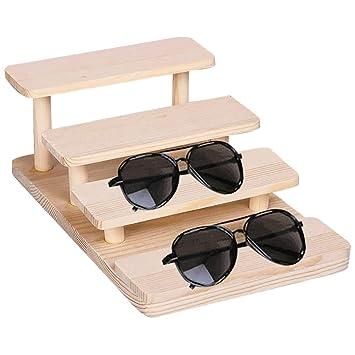 MASIYU Gafas de Sol Anteojos Soportes de exhibición de ...