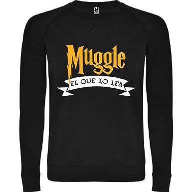 Sudadera Unisex Harry Potter Muggle el Que lo Lea.: Amazon.es: Ropa y accesorios