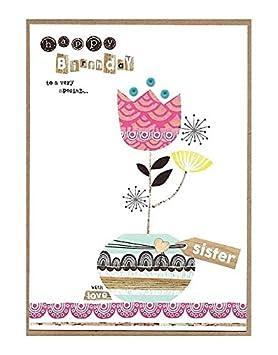 Tarjetas de felicitación de cumpleaños para hermana por ...