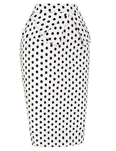 Cl8928 Professionnelle Cuir Kasin FR268 Jupe 9 Taille Coton Crayon Haute Femme en Kate 601 qEa7pa