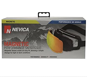 NEVICA MAGNETIC PERFORMANCE SKI GOOGLE EASY CHANGE LIGHT   DARK CONDITIONS 95b7a8fb08b