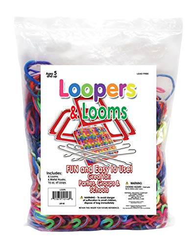 Pepperell LOOP6 Loopers & Looms, Multicolor ()