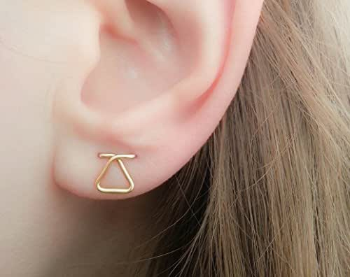 Triangle piercing