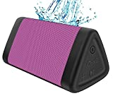 OontZ Angle 3 Portable Bluetooth Speaker : Louder Volume 10W Power, More Bass, IPX5 Water Resistant, Perfect Wireless Speaker for Home Travel Beach Shower Splashproof, by Cambridge SoundWorks (Pink)