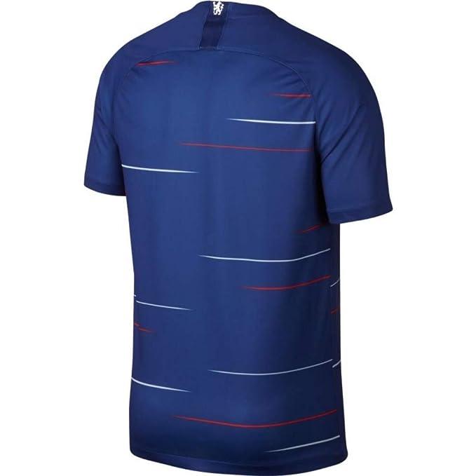 f8791dacf88 Nike Men's Chelsea Fc Stadium Home Short Sleeve Top: Amazon.co.uk: Sports &  Outdoors