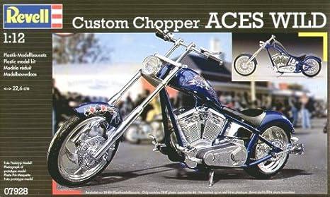 Revell 07928 - Maqueta de Motocicleta Chopper Aces Wild ...