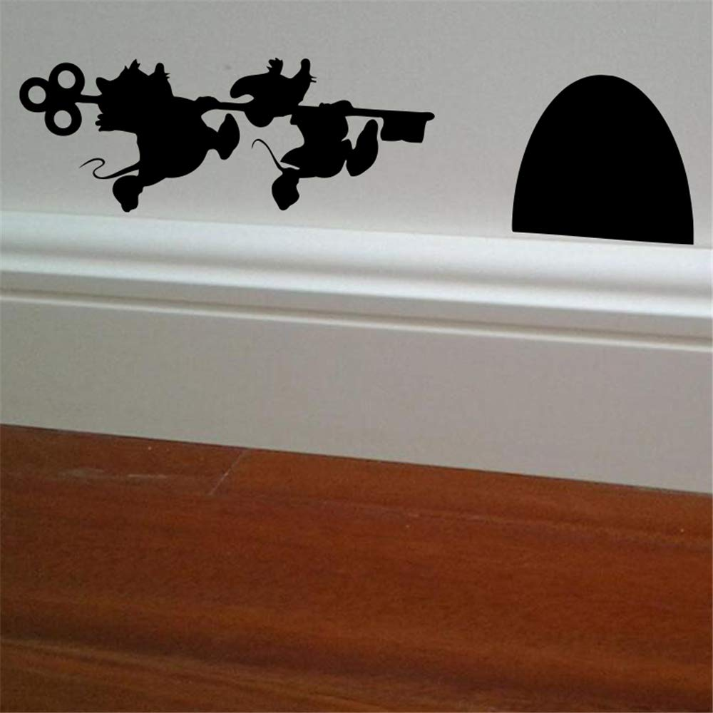Mickey Minnie Mouse Wall Art Decal Sticker Mouse House Vinyl Art ...