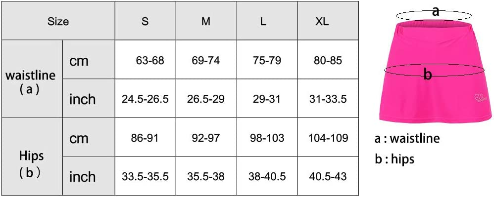 Femmes V/élo De Montagne Jupe VTT Cyclisme Shorts Collants 2-en-1 avec 3D Gel Rembourr/é Doublure V/élo sous-v/êtements V/êtements R/éfl/échissants