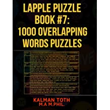 Lapple Puzzle Book #7: 1000 Overlapping Words Puzzles (LAPPLE IQ PUZZLES)