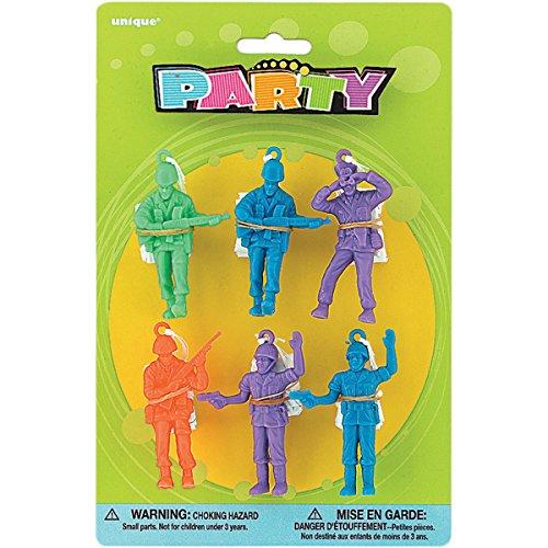 Army Parachute Men Party Favors, 6ct