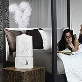 Iuhan Fashion 1.5L Ultrasonic Home Aroma Humidifier Air Diffuser...