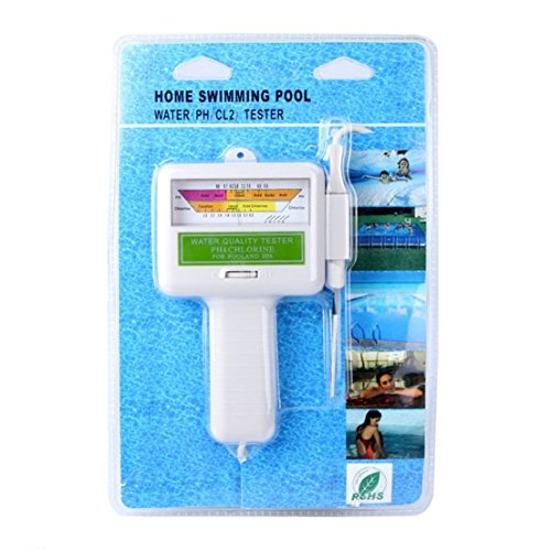 1 Pc Super Popular pH Chlorine Tester Spa Favored Check Swimming Pool Detector Water Quality Test Color (Nitrate Test Refill)