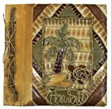 Islander Hawaiian Photo Album Palm Turtle 7'' x 7''