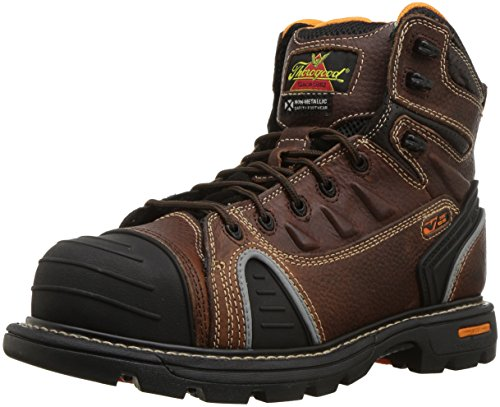 Image of the Thorogood Composite Safety Toe Gen Flex 804-4445 6-Inch Work Boot, Brown, 10.5 W US