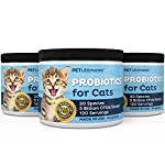 PetUltimates Probiotics for Cats - 20 Species - Stops Diarrhea & Vomiting, Cuts Litterbox Smell 10