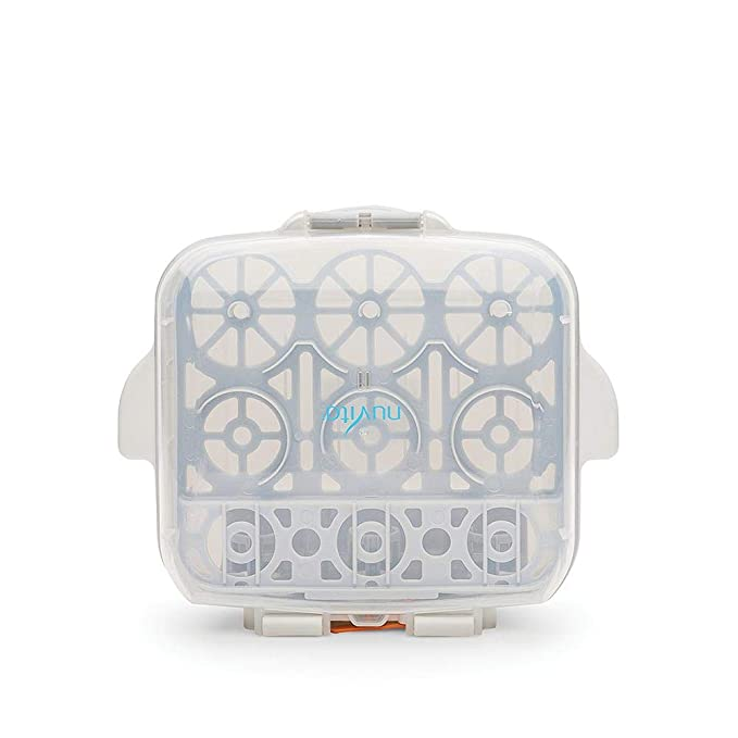 Nuvita 1085 Esterilizador Biberon Microondas - Ultra Compacto Cabe ...