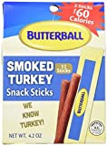 Butterball Smoked Turkey Snack Sticks 4.2 oz – 10 Pack