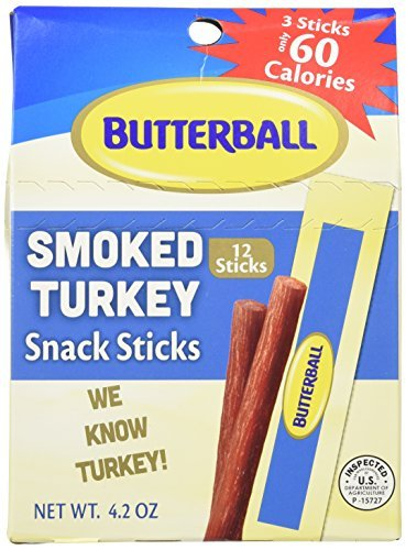 Butterball Smoked Turkey Snack Sticks 4.2 oz – 10 Pack
